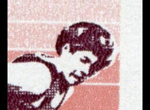 1372I Hochsprung mit PLF I weißer Fleck am Scheitel, Feld 41, ** postfrisch