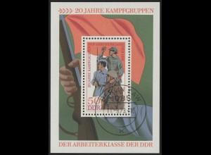 Block 39 Kampfgruppen 1973 mit VS-O Berlin ZAW
