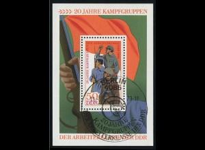 Block 39 Kampfgruppen 1973, ESSt Berlin 11.09.1973