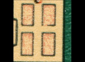2111 Silbermann-Orgel 10 Pf: gebrochene Türfüllung, Feld 21 **