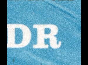 2163 Brücke 10 Pf: mittig verdickes R in DDR, Feld 25**