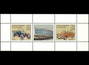 2412-2413 Auto-Kleinbogen 1979, postfrisch