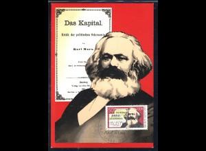 2786 Karl Marx 50 Pf 1983, amtliche MK 1/83