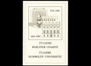 2980-2981 Humboldt-Universität 1985 amtliches ETB 2/85