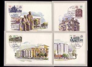 3071-3074 750 Jahre Berlin 1987, amtliche MK 5-8/87