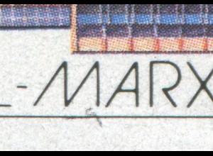 3181-3182 Pioniertreffen 1988, Zusammendruck - PLF Schliere unter M, Feld 46, **