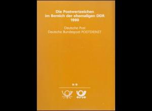 amtliches Jahrbuch DDR 1990 postfrisch ** komplett, wie verausgabt