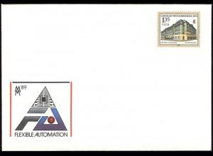 U 9 Leipziger Messe & Handelshof 1989 1,35 M, postfrisch wie verausgabt