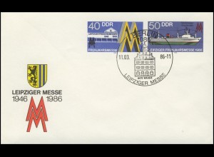 U 4 Leipziger Messe & Fabriktrawler 1986, ESSt Berlin Alte Waage 11.03.86