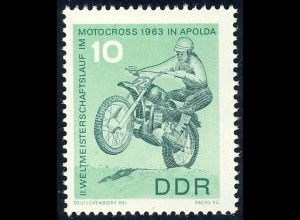 972 Motocross-WM 10 Pf **