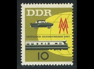 976 Leipziger Herbstmesse 10 Pf **