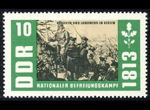 989 Befreiungskriege Kosaken+Landwehr 10 Pf **