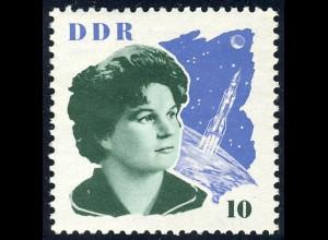 993 Sowj. Kosmonauten Tereschkowa 10 Pf **