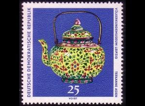 1634 Völkerkundemuseum Teekanne 25 Pf **