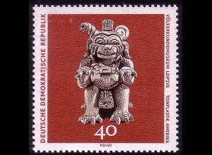 1635 Völkerkundemuseum Tongefäß 40 Pf **