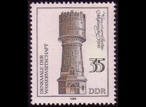 2994 Denkmale Wissenschaft 35 Pf Wasserturm **