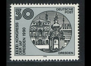 3360 Astronautische Föderation 30 Pf Bauw. Dresden **