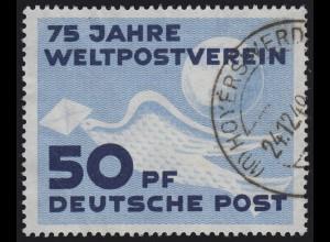 242 Weltpostverein 1949, O gestempelt