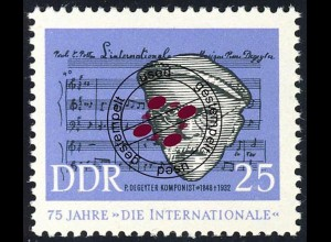 967 Kampflied de Geyter 25 Pf O