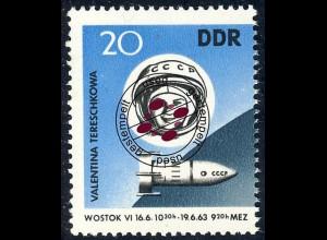970 Raumschiffe Wostok 20 Pf O