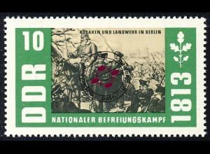 989 Befreiungskriege Kosaken+Landwehr 10 Pf O