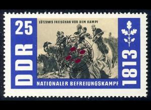991 Befreiungskriege Lützow 25 Pf O