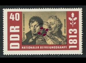 992 Befreiungskriege Scharnhorst+Kutusow 40 Pf O
