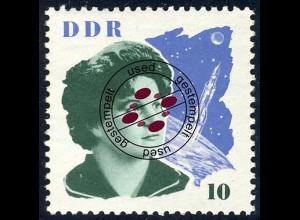 993 Sowj. Kosmonauten Tereschkowa 10 Pf O