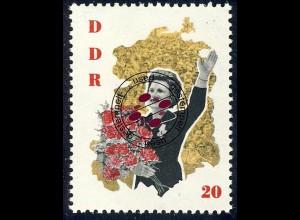 994 Sowj. Kosmonauten Tereschkowa 20 Pf O