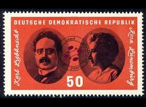 1155 Reichskonferenz Spartakus Bl. 25, 50 Pf O