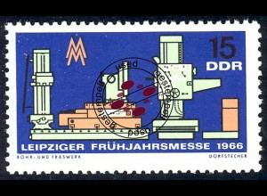 1160 Leipziger Frühjahrsmesse 15 Pf O