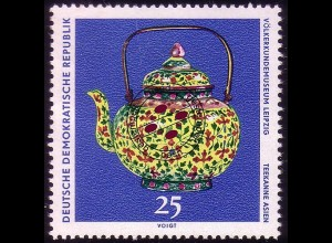 1634 Völkerkundemuseum Teekanne 25 Pf O
