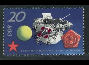1636 Sowjetische Weltraumflüge 20 Pf O