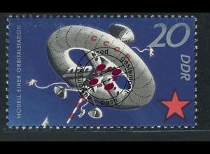 1637 Sowjetische Weltraumflüge 20 Pf O