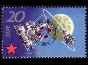 1638 Sowjetische Weltraumflüge 20 Pf O