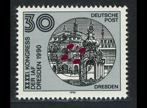 3360 Astronautische Föderation 30 Pf Bauw. Dresden O