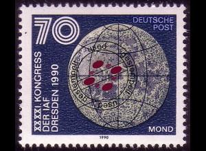 3362 Astronautische Föderation 70 Pf Mond O