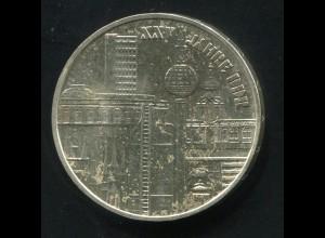 Gedenkmünze 25 Jahre DDR 10 Mark von 1974, vorzügliche Erhaltung