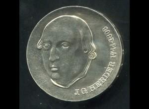 Gedenkmünze Johann Gottfried Herder 20 Mark von 1978, vorzügliche Erhaltung