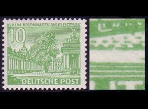 47I/IV Berliner Bauten 10 Pf - PLF IV [PM 8], postfrisch **