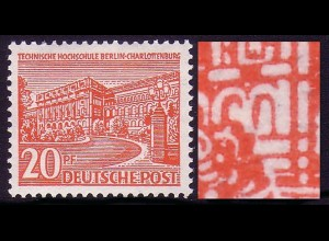 49V Berliner Bauten 20 Pf - PLF V [PM 10] **
