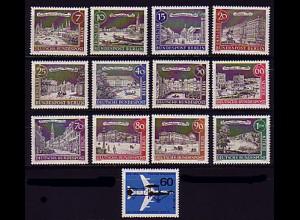 218-230 Berlin-Jahrgang 1962 komplett, postfrisch **