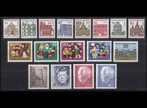 233-249 Berlin-Jahrgang 1964 komplett, postfrisch **