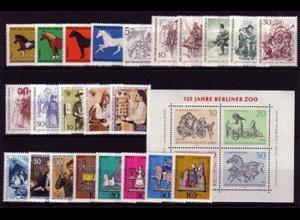 326-352 Berlin-Jahrgang 1969 komplett, postfrisch **