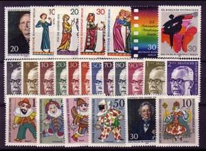 353-378 Berlin-Jahrgang 1970 komplett, postfrisch **