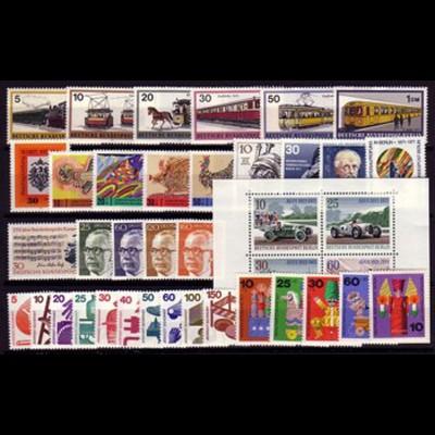 379-417 Berlin-Jahrgang 1971 komplett, postfrisch **