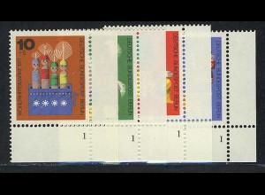 412-15 Wofa Holzspielzeug 1971, FN1 Satz **