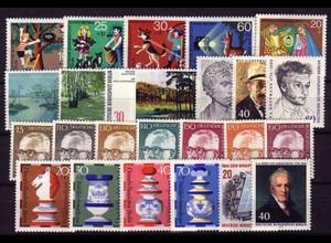 418-441 Berlin-Jahrgang 1972 komplett, postfrisch **