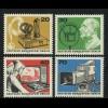 455-458 Deutscher Rundfunk 1973 aus Block 4, Satz **