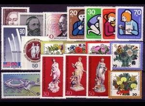 464-481 Berlin-Jahrgang 1974 komplett, postfrisch **